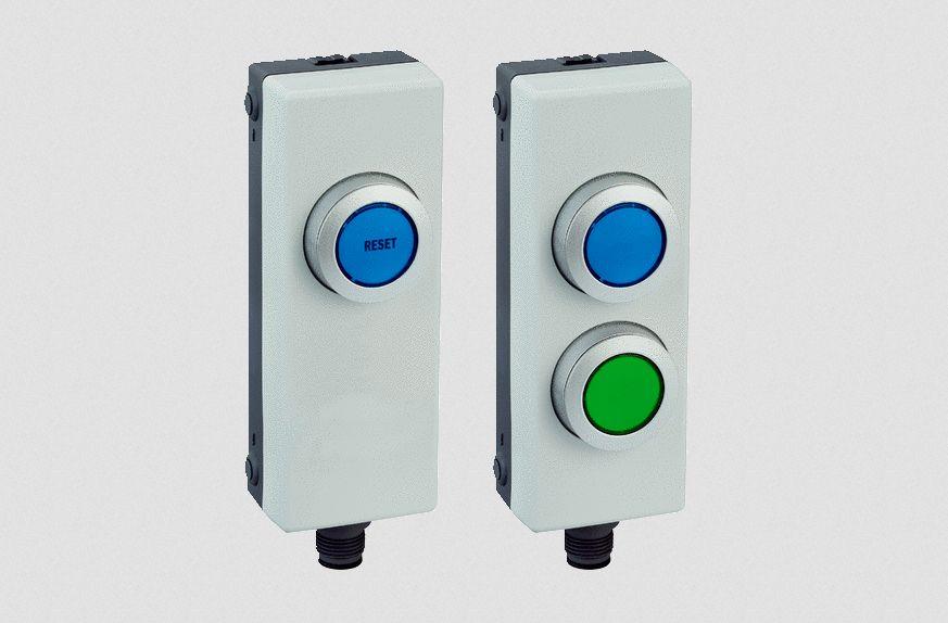 bouton de réarmement sécurité